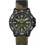 Ceas barbatesc Timex Expedition T49965 Cadran Verde Curea Textil