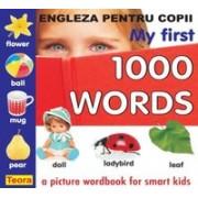 ENGLEZA PTR COPII - My first 1000 words