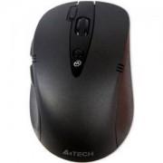 Мишка Безжична V-Track PADLESS мишка G10 -660FL, черна с лазерна показалка ,USB, нано рисивър - A4-MOUSE-G10-660FL