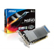 MSI N210-MD1GD3H/LP NVIDIA GeForce 210 1GB