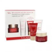 Clarins Super Restorative Day Cream Kit 50ml за Жени - дневна грижа за кожата 50 ml + почистваща пяна 30 ml + нощна грижа за кожата 15 ml Всички типове кожа