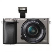 Sony Aparat SONY Alpha a6000 (ILCE-6000) Szary + Obiektyw 16-50mm + DARMOWY TRANSPORT!