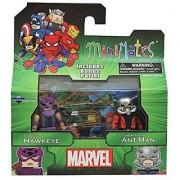 Marvel Minimates Best of Series 3 Minifigure 2-Pack Classic Hawkeye & Lab Attack Ant-Man