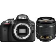 NIKON D3300 + 18-55mm AF-P VR Preta