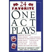 24 Favorite One Act Plays by Bennett Cerf