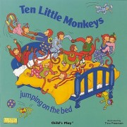 Ten Little Monkeys Jumping on the Bed by Tina Freeman