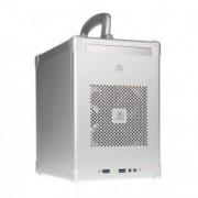Boitier PC Cube PC-TU100A Mini-ITX - argent