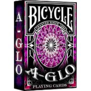 Bicycle A Glo Red