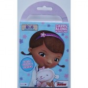 Doc McStuffins Carry Along Activity Pad with Stickers and Crayons ((Pocket-sized: 4 X 5 )