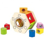 Hape - Shake and Match Wooden Shape Sorter