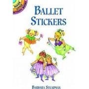 Ballet Stickers by Barbara Steadman
