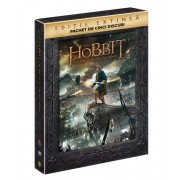 The Hobbit: The Battle of the five armies: Ian McKellen, Martin Freeman, Richard Armitage - Hobitul: Batalia celor cinci ostiri- Editie extinsa (5DVD)