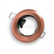 LED line Oprawa halogenowa sufitowa okrągła stała, tłoczona - antyk