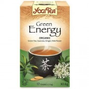 Yogi Tea HERBATA ZIELONA ENERGIA BIO (17 x 1,8g) - YOGI TEA