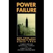 Power Failure by Professor Robert F Wagner Graduate School of Public Administration Charles Brecher