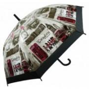Deštník dámský vystřelovací holový Londýn 9142-8 9142-8
