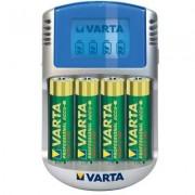 VARTA Power Play LCD USB akkutöltő, 4db ceruzaakkuval (200172)