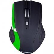 Мишка Modecom WM5, 5 бутона, черно и зелено, MDC00065