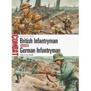 British Infantryman vs German Infantryman by Stephen Bull