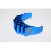 Aluminium Motor Heat Sink Mount 15mm For 1/10 05, 540, 360 Motor- 1Pc Blue