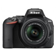 Nikon Digital SLR D5500 Combo Kit With AF-P 18-55mm VR and AF-S DX 55-200mm VR II Lens Kit (Black), CARD, CAMERA BAG