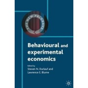 Behavioural and Experimental Economics by Steven N. Durlauf