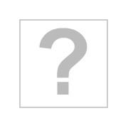 Mesa escritorio de diseño moderno POLO, cristal curvado blanco de 12mm , 126x70 cms