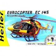 Maquette Hélicoptère : Kit Complet : Eurocopter Ec 145 Sécurité Civile-Heller