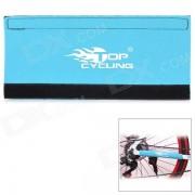 TOPCYCLING Neoprene Bike Chain Stay Protector - Blue