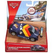Disney Cars Wheelie Action Racers Max Schnell by Mattel