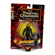 Zizzle Pirates of the Caribbean Dead Man's Chest 3 3/4 Inch Action Figure Series 3 Singapore Pirate Tai Huang by Disney