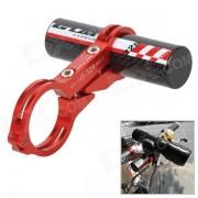 GUB CNC 329 Carbon Fiber linterna de la bici Sostenedor de Extension - Red