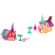 Hasbro Furry Frenzies Mascotas revoltosas musicales Flurry in a Hurry - Animal de peluche con movimiento, sonido y música