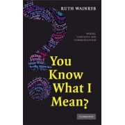 You Know what I Mean? by Ruth Wajnryb