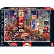 Educa Puzzle Times Square New York 8000 de piese 16325 colorat