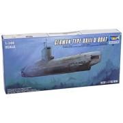 Trumpeter 1/144 Modellino Sottomarino German Type XXIII Late Production U-Boat Model Kit (Importato da Giappone)