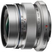 Obiectiv Foto Olympus PEN M.Zuiko ED 12mm 1:2.0 (Argintiu)