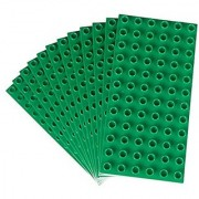 Our base plates are compatible with DUPLO bricks. So create with your existing sets on our affordable base plate soluti