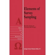 Elements of Survey Sampling by Ravindra Singh