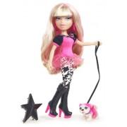 Bratz Neon Runway Doll - Cloe (Blonde, Pink)