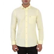 Integriti White Cut away Full sleeves Casual Shirt For Men