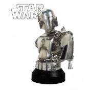 Star Wars: Episode II: Attach of the Clones MBNA Galactic Rewards Exclusive Jango Fett Chrome Mini-Bust