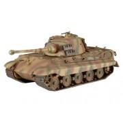 Revell 03129 - Tiger 2 Ausf. B Kit di Modello in Plastica, Scala 1:72