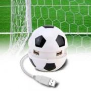 USB rozbočovač - fotbalový míč