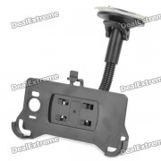 Support voiture support pivotant avec ventouse pour HTC Sensation XL / X315E / G21 - Noir