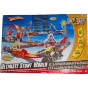 Hot Wheels Trick Tracks Ultimate Stunt World Play Track Set