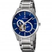 Reloj Festina F6845/3-Plateado con Azul