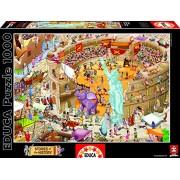"""Educa 16344 - Puzzle della linea """"Stories of the History"""", soggetto: Antica Roma, 1000 pz."""