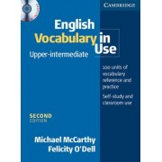 English Vocabulary in Use Upper-Intermediate with CD-ROM by Michael J. McCarthy