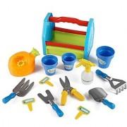 Rainbow Gardening Tool Box 14pc Garden Tools Toy Set for Kids